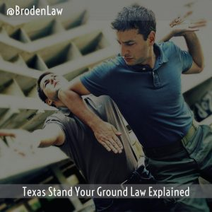Texas Stand Your Ground Law Explained