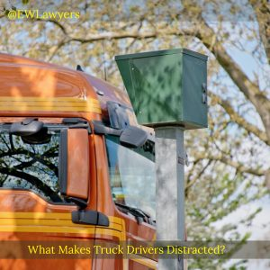What Makes Truck Drivers Distracted?