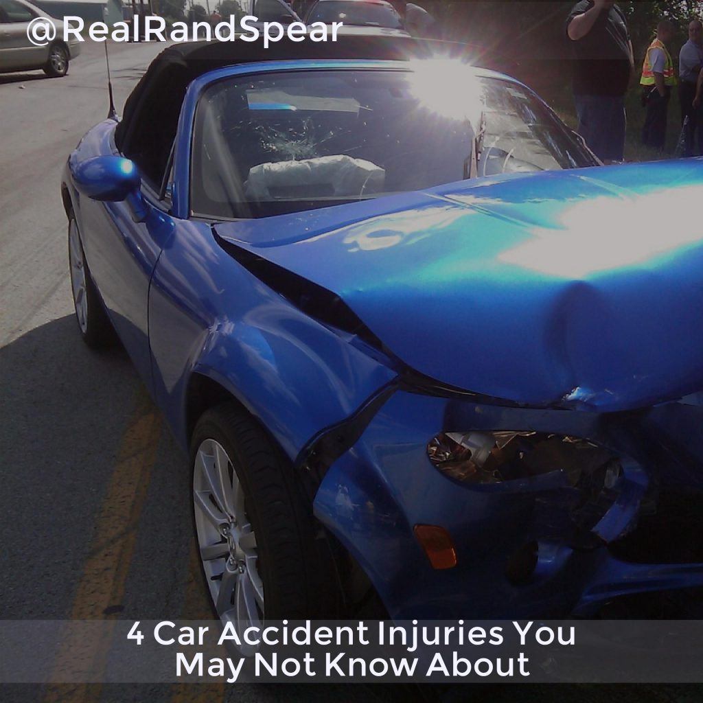4 Car Accident Injuries You May Not Know About