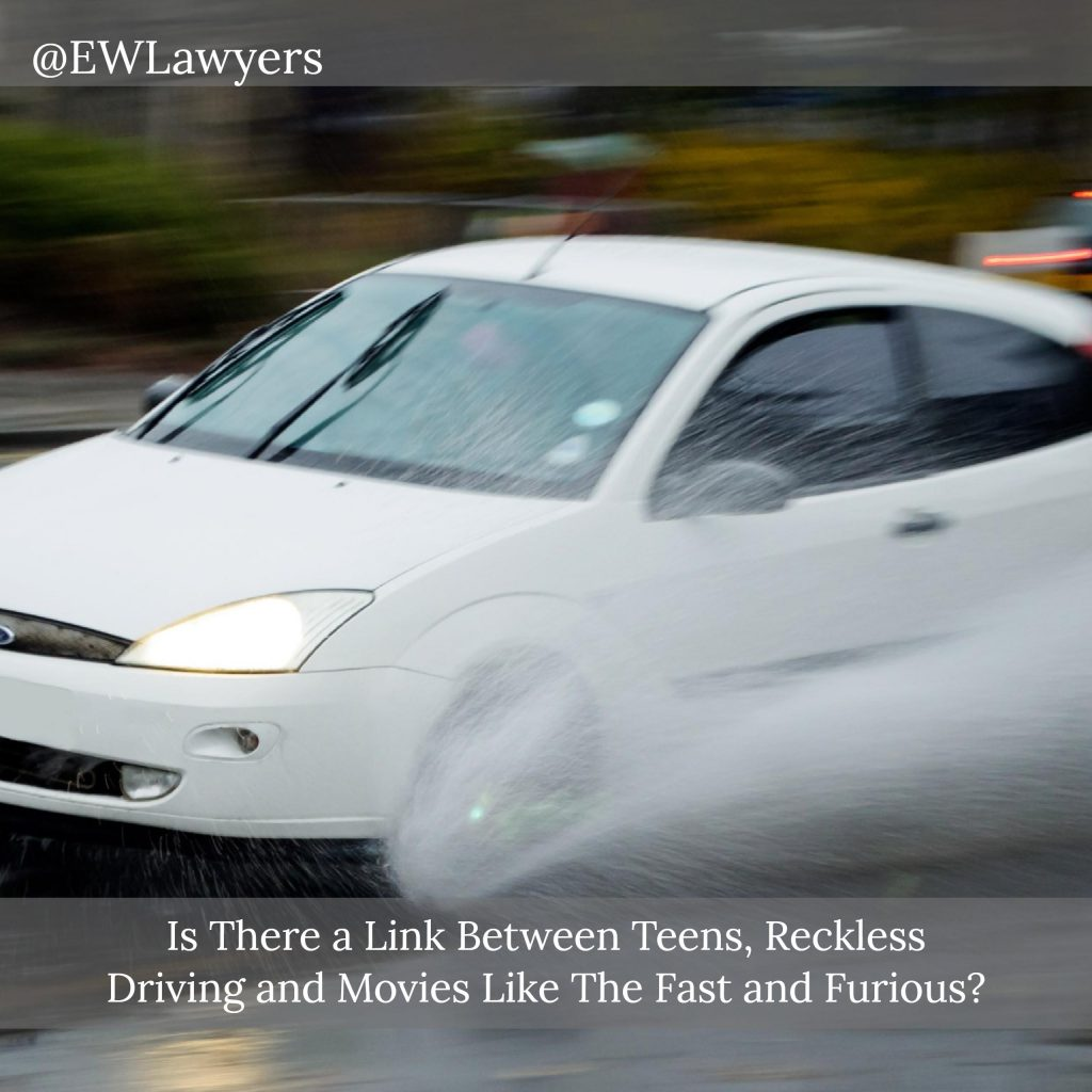 Is There A Link Between Teens, Reckless Driving And Movies?