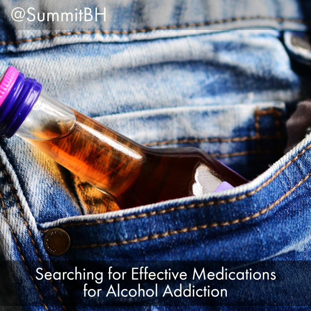 Searching For Effective Medications For Alcohol Addiction