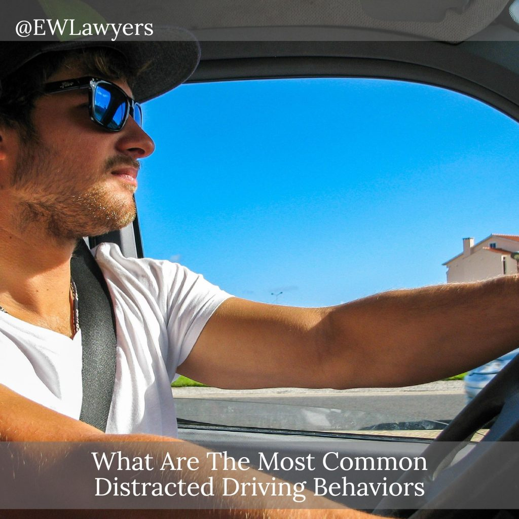 What Are The Most Common Distracted Driving Behaviors