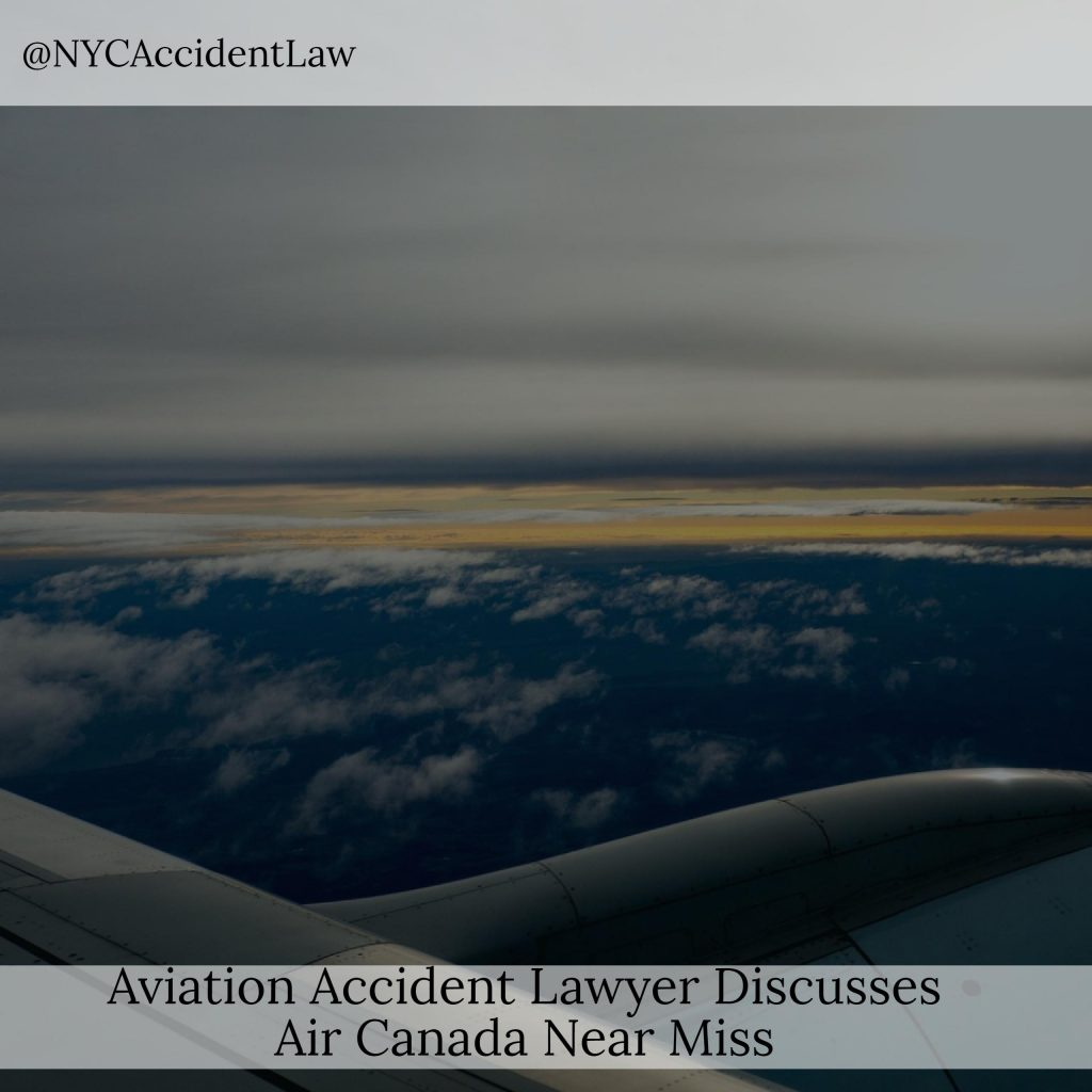 Aviation Accident Lawyer Discusses Air Canada Near Miss