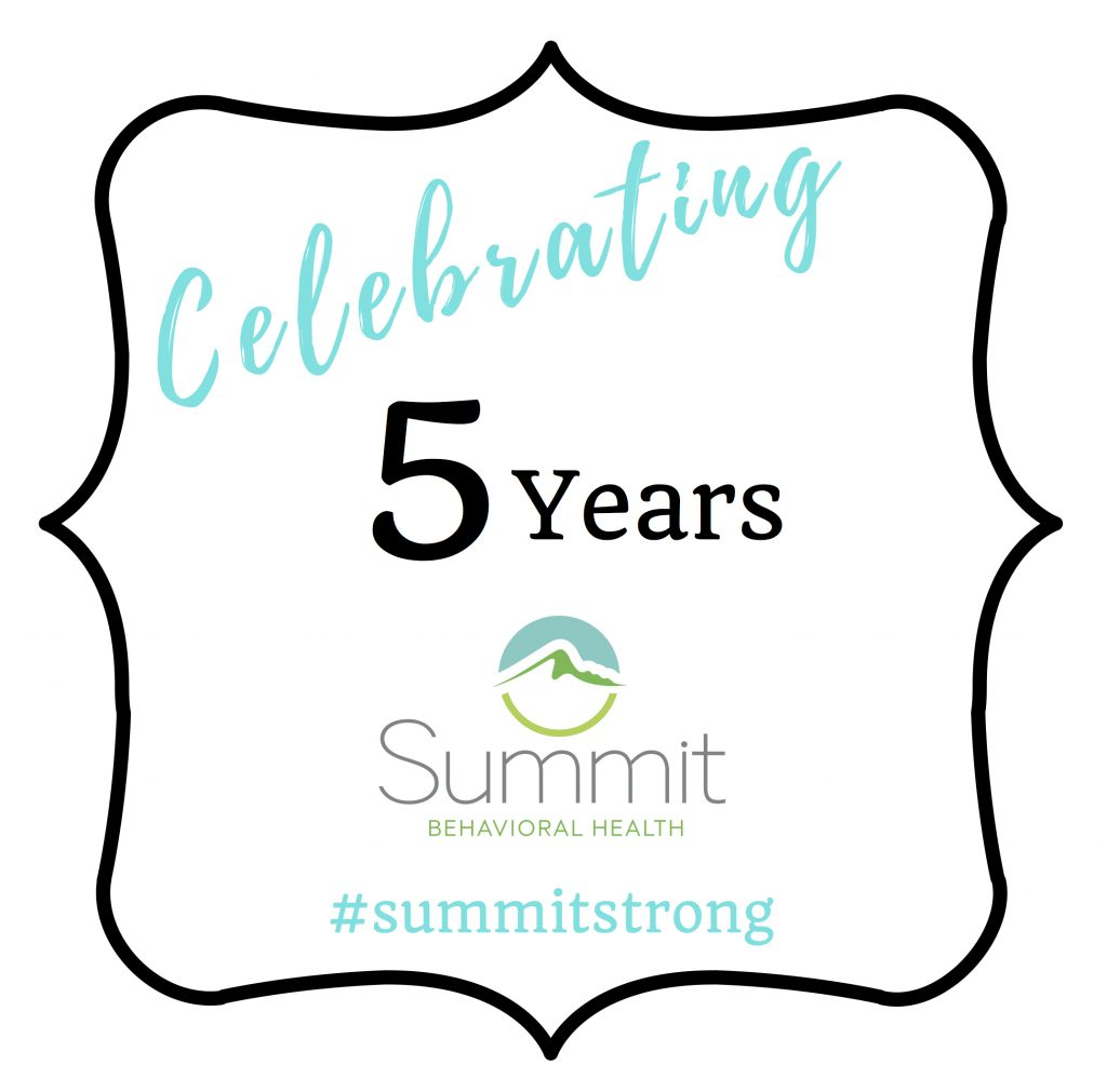 Summit Behavioral Health Drug & Alcohol Addiction Center Celebrates 5 Years