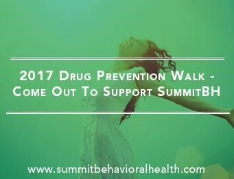Summit Behavioral Health Will Sponsor 2017 Drug Prevention Walk In Cranford, NJ