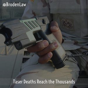 Taser Deaths Reach The Thousands