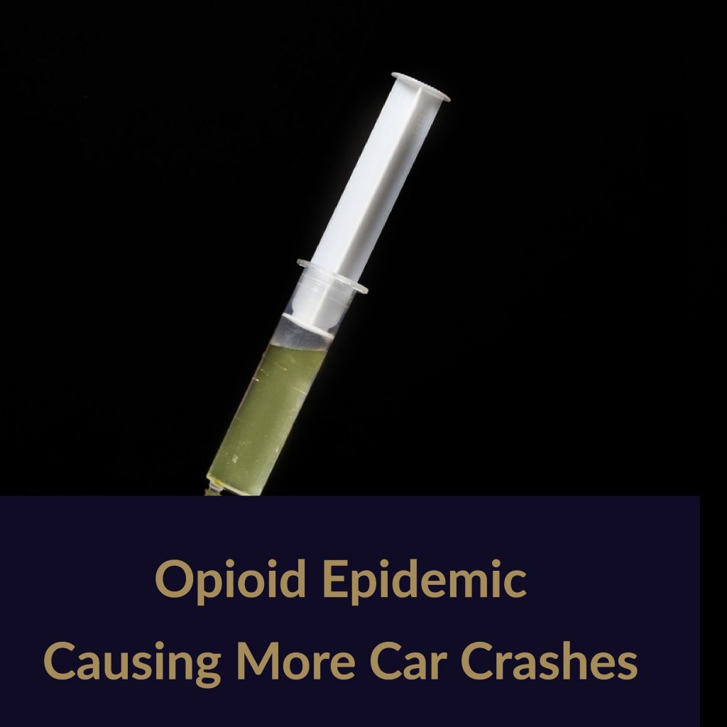 Opioid Use Causing More Fatal Crashes Says Boca Car Accident Lawyer Joe Osborne