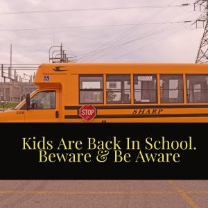 School Is Back In Session Says Boca Car Accident Lawyer Joe Osborne