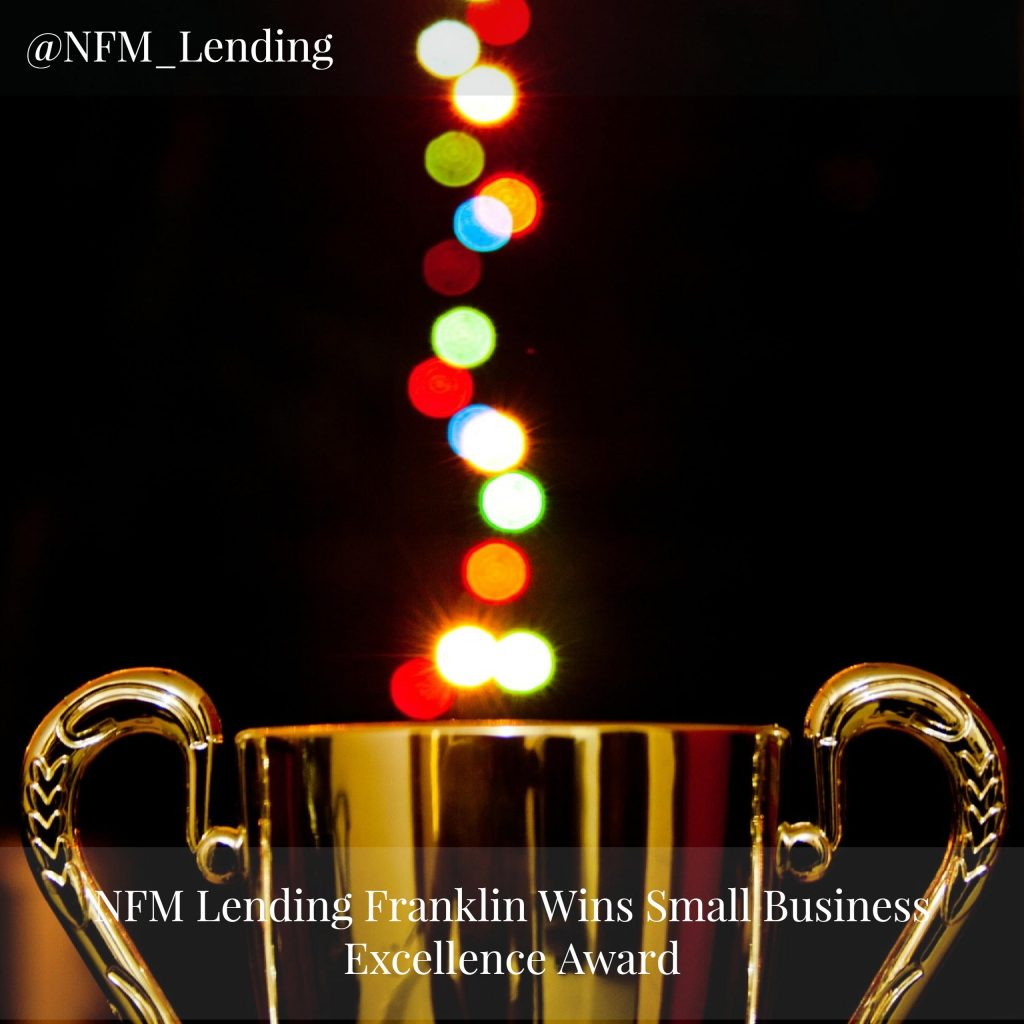 NFM Lending Franklin Wins Small Business Excellence Award