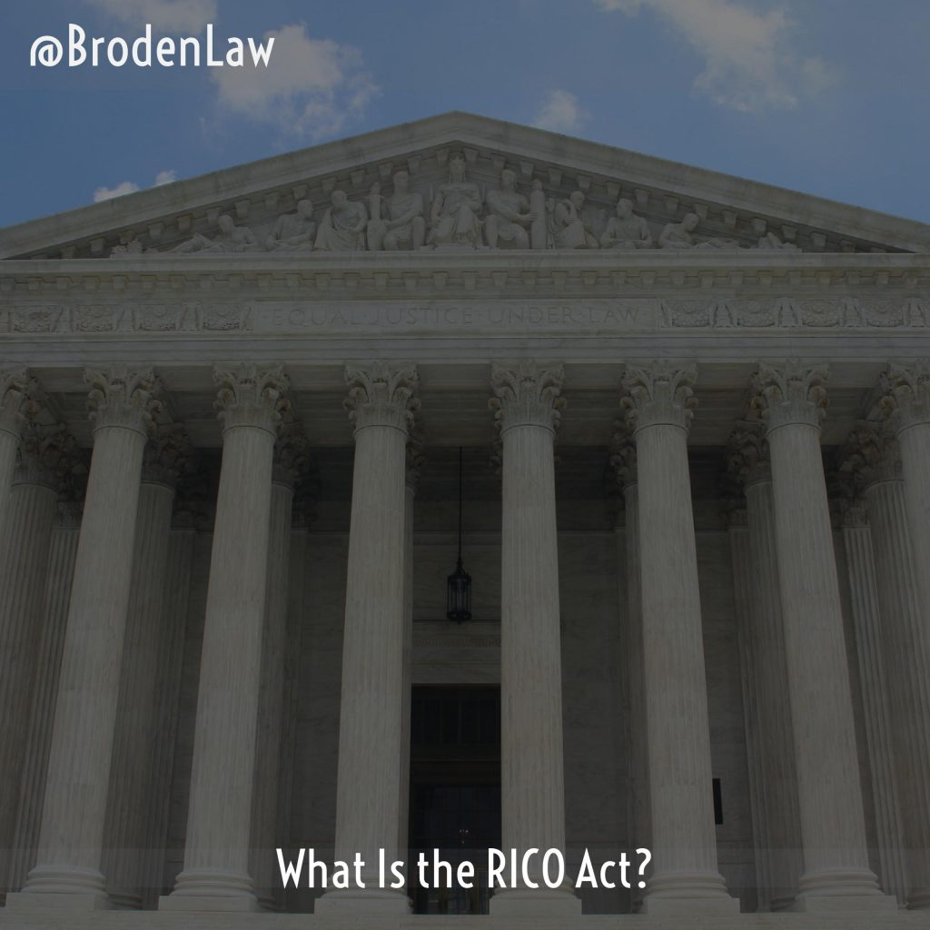 What Is The RICO Act?