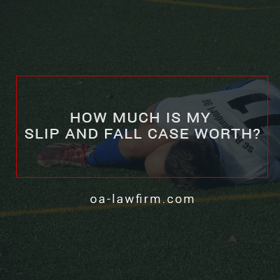 How Much Is My Slip And Fall Case Worth?