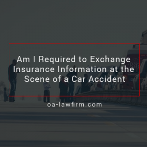 Can A Driver Refuse to Exchange Insurance Information After a Car Accident?
