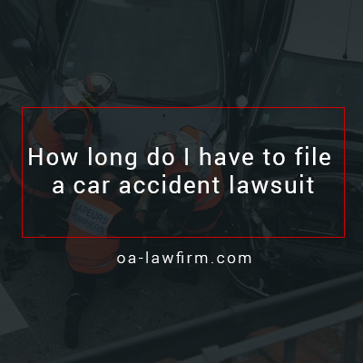 How Long Do I Have to Initiate An Auto Accident Lawsuit?