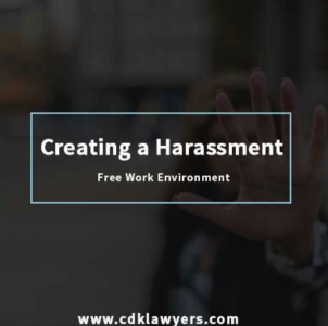 Creating a Harassment Free Work Environment