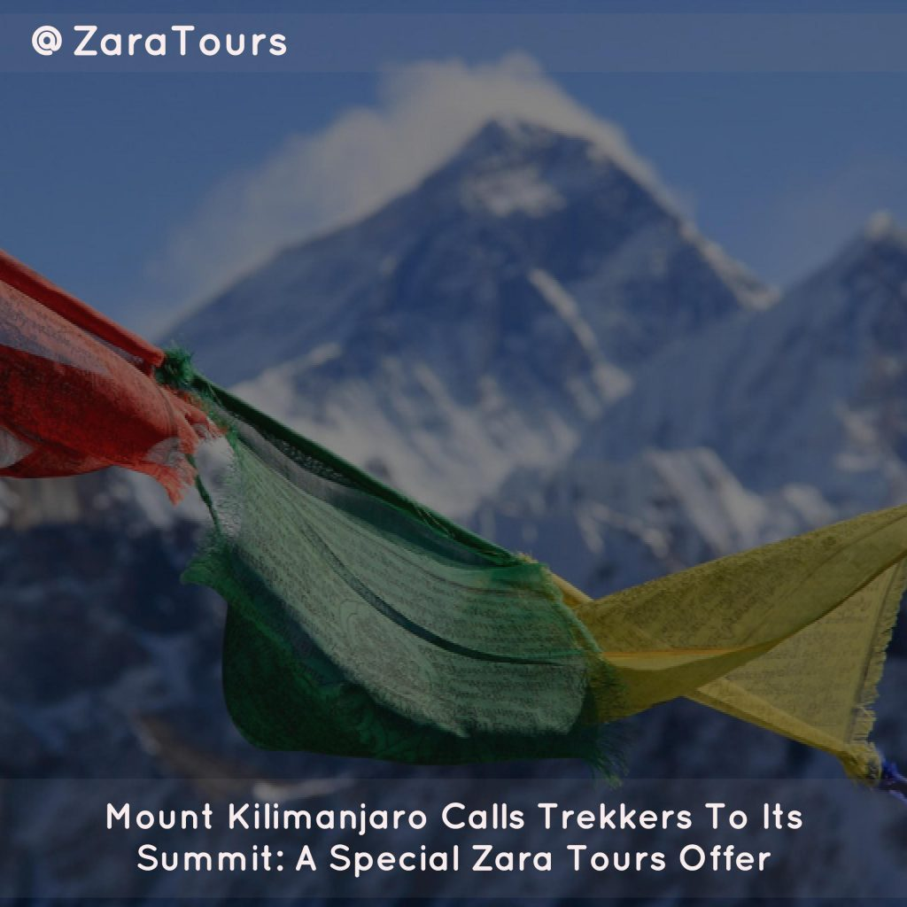 Mount Kilimanjaro Calls Trekkers To Its Summit: A Special Zara Tours Offer