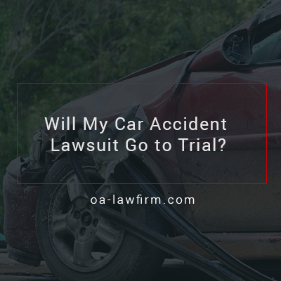 Florida Car Accident Lawyer – Will My Car Accident Lawsuit Go to Trial?