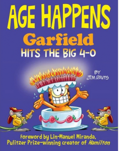 Young Fan Artist Evan Vazquez Featured in Age Happens: Garfield Hits the Big 4-0