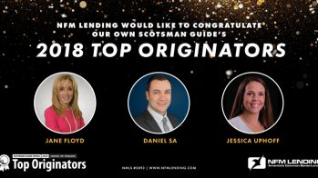NFM Lending Loan Originators named among Scotsman Guide's Top Originators 2018