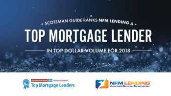 NFM Lending Ranked in the Top Mortgage Lenders 2018