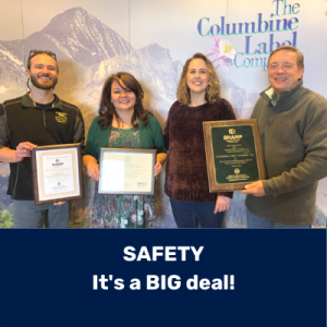 Columbine Label – Safety is a BIG deal!