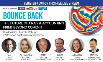 CPA and Accounting Industry – COVID-19 Impact – The Future of Industry LIVESTREAM
