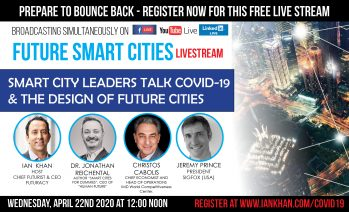 COVID-19 – Future Smart Cities Leadership Livestream, Pandemic, Technology, Livability