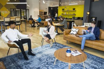 Dallas Flexible Office Space Provider Venture X Dallas By Galleria Offers Coming Back to Work Tips