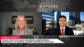 Leslie Ferry Explains How Brize is Empowering Individuals to Achieve Career Happiness & Success – Press Releases