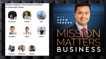 Mission Matters Real Estate Investing In Uncertain Times – Press Releases